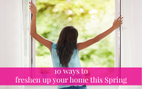 Spring clean your home