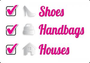 Chicks and Mortar - Shoes, handbags, houses