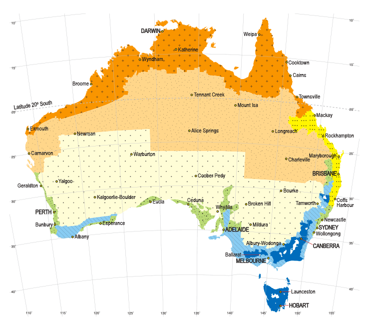 australian climate zones, climate zones, passive design, orientation, air flow, shading, insulation, australia, climate, cool, hot, southern, norther, winter, summer, spring, autumn, all year round, home, house, energy efficient, energy efficiency
